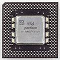 Intel microprocessor Pentium MMX 233 - SL27S-4326.jpg