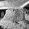 interieur zuidelijke steunbeer of oostmuur zuider zijbeuk romaanse kerk vanuit het oosten (72) - alphen aan de maas - 20007611 - rce