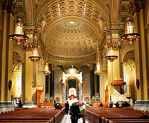 Cathedral Basilica of Saints Peter and Paul (Philadelphia) - Basilica interior