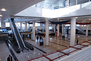 Tbilisi International Airport - Ground floor arrivals and check-in