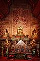 Interior Viharn Lai Kam Phra Singh Temple 1 2012.jpg