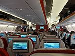 Interior of A330-343X (Hainan Airlines) 20161003.jpg