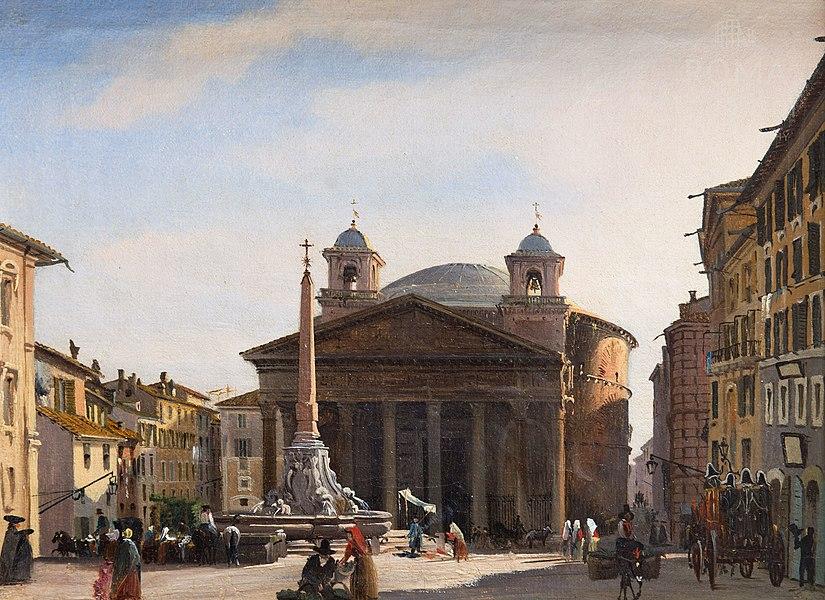 pantheon rome - image 2
