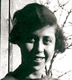 agrandissement d'une photographie en noir et blanc d'Irène Némirovsky à 25 ans
