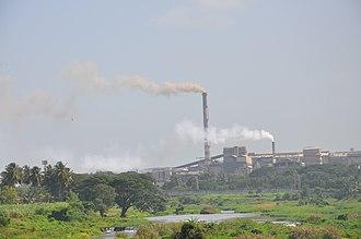 Bhadravati, Karnataka - Image: Iron City