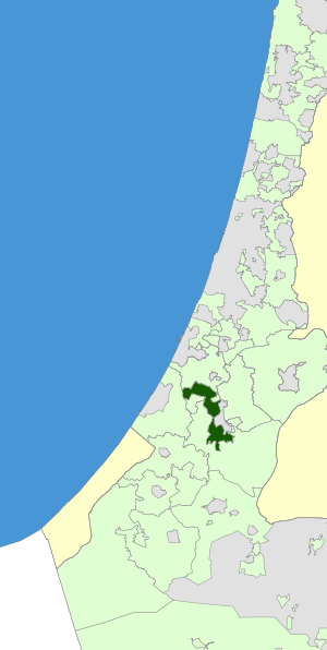Israel Map - Shafir Regional Council Zoomin.svg