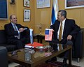 Israeli Defense Minister Ehud Barak and Special Envoy George Mitchell (4557420053).jpg