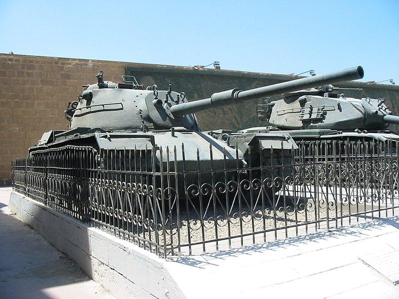 Israeli M48 tank captured by Egypt.jpg