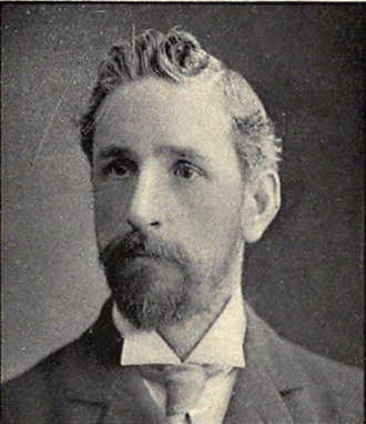 J. Playfair McMurrich - McMurrich from the 1902 Michiganensian
