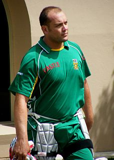 Jacques Kallis South African cricketer