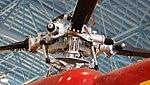 JASDF S-62J(53-4774) rotor head right front low-angle view at Hamamatsu Air Base Publication Center November 24, 2014.jpg