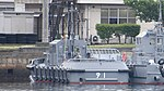 JMSDF YT-91 left rear view at Kure Naval Base May 6, 2018.jpg