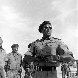 Jayanto Nath Chaudhuri - Choudhury during Operation Polo in 1948