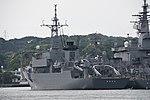 JS Nichinan(AGS-5105) left rear view at JMSDF Yokosuka Naval Base April 30, 2018 03.jpg