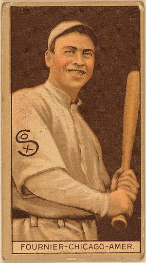 Jack Fournier - Image: Jack Fournier baseball card