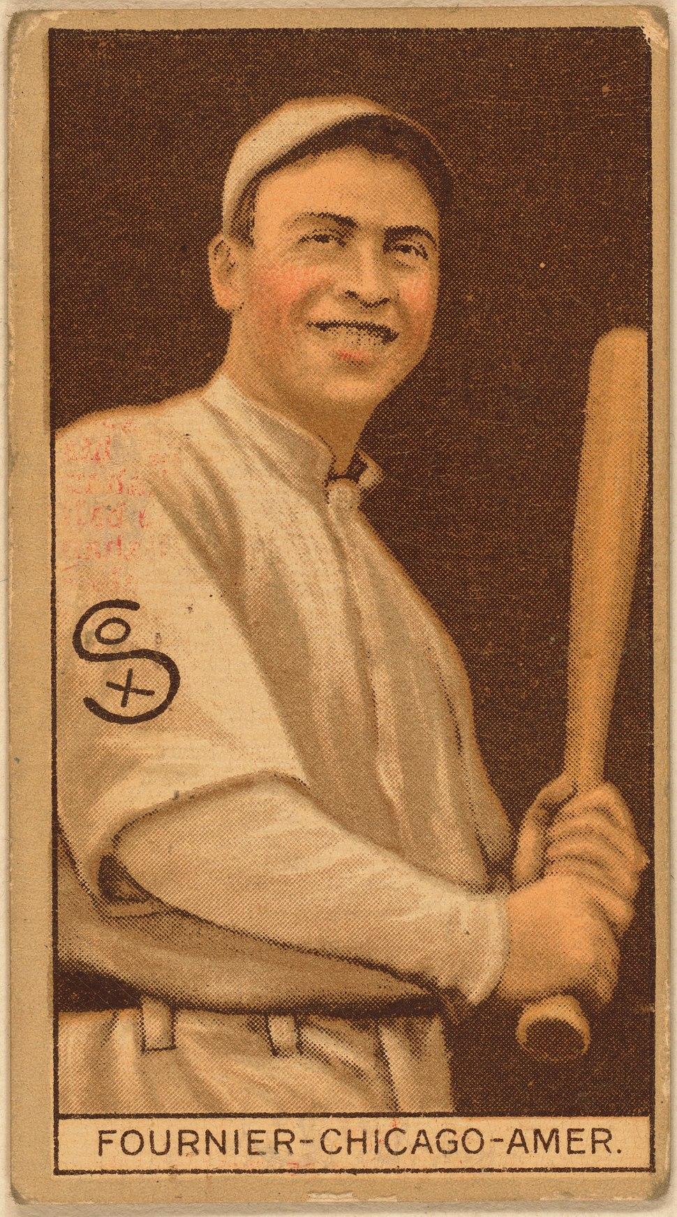Jack Fournier baseball card