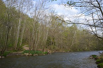 Jacobs Creek (Pennsylvania) - Upstream from Alliance Furnace