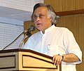 Jairam Ramesh addressing the Inaugural Session of an International Workshop on 'Climate threat to Sundarbans across India and Bangladesh', in Kolkata, on April 04, 2010.jpg