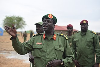 South Sudanese Civil War - In December 2013, parts of the SPLA's 4th Division rebelled under the leadership of James Koang (pictured).