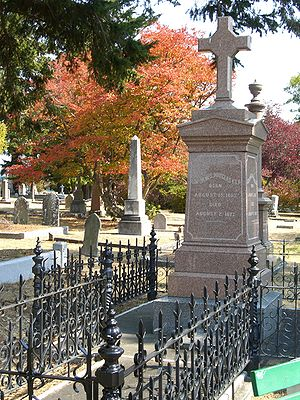 James Douglas (governor) - Grave of Sir James Douglas at Ross Bay Cemetery in Victoria, BC
