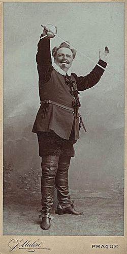 Jan Mulač - Jakub Seifert jako Cyrano z Bergeracu
