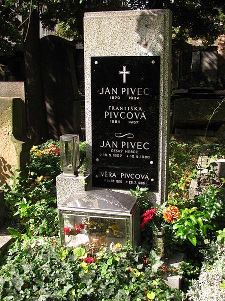 File:Jan Pivec hrob.jpg