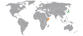 Diplomatic relations between Japan and the Federal Republic of Somalia