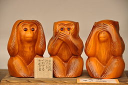 Japanese Three Wise Monkeys