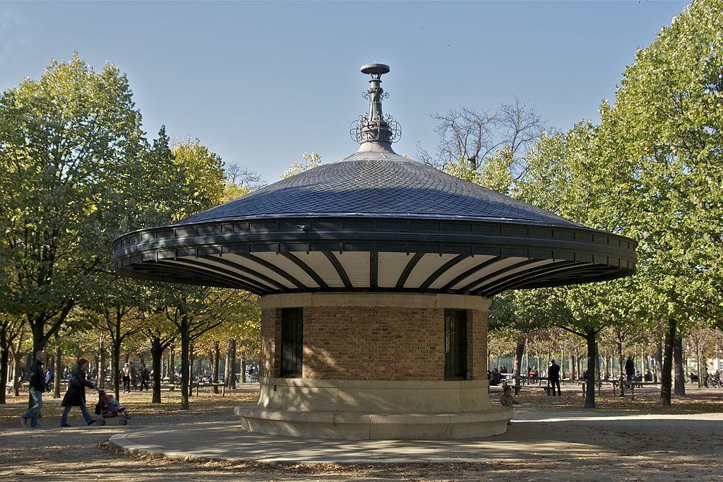 Fichier Jardin Du Luxembourg Abri Des Surveillants Jpg Wikipedia