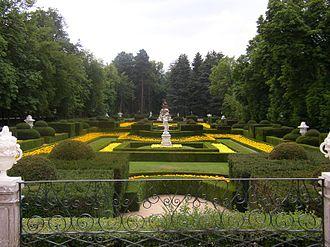 Royal Palace of La Granja de San Ildefonso - Jardin à la française style garden at La Granja.