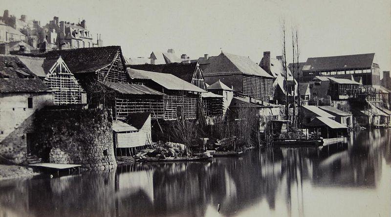 Fichier:Jardins des tanneries Avant 1870.JPG