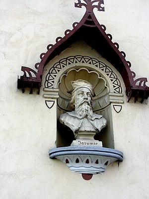 Jaromír, Duke of Bohemia - Bust of Jaromír in Jaroměř