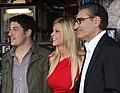 Jason Biggs, Tara Reid, Eugene Levy (6811669044).jpg