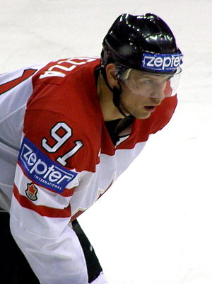 Jason Spezza - Image: Jason Spezza WC2008