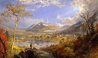 Jasper Francis Cropsey - Jasper Francis Cropsey - Starrucca Viaduct, Pennsylvania, 1865