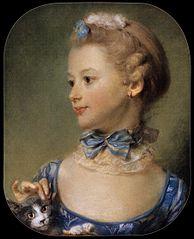 Portrait de Mademoiselle Huquier