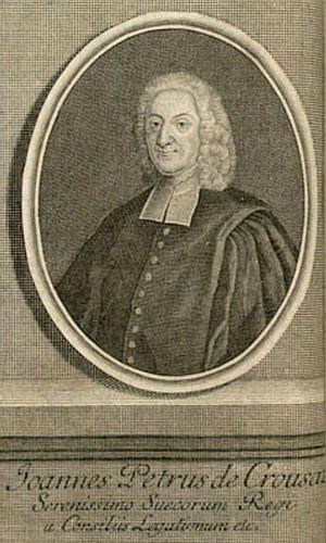 Jean-Pierre de Crousaz - Image: Jean Pierre de Crousaz (1)