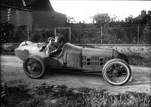 1921 French Grand Prix - Jean Chassagne
