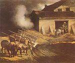Le Four à plâtre  , 1821-1822, huile sur toile, 50 x 61 cm, Musée du Louvre, Paris
