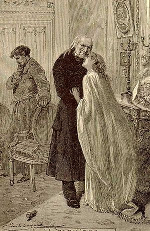 Cosette - Cosette bids farewell to Valjean after her marriage