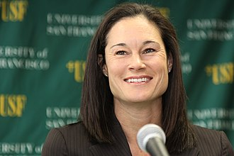 Wade Trophy - Jennifer Azzi won in 1990 while playing for  Stanford.