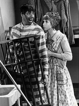 The Jerry Lewis Show - Jerry Lewis and Judy Carne, 1968