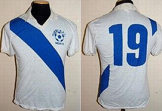 Puebla F.C. - Image: Jersey 1982