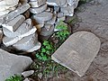 Jewish Tombstones Piled in Casemate - Brest Fortress - Brest - Belarus - 03 (26872129734).jpg
