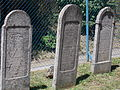 Jewish cemetery. Old graves 6. Monument ID 3840 - Szentendre, Hold Street.JPG
