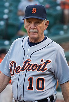 43c2c607 Jim Leyland 2013.jpg. Leyland with the Detroit Tigers ...
