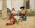 Joaquín Agrasot - Two Inhabitants of the Valencia Huerta - Google Art Project.jpg