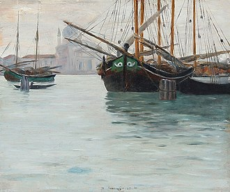 Johan Rohde - Image: Johan Rohde Den store Kanal i Venedig