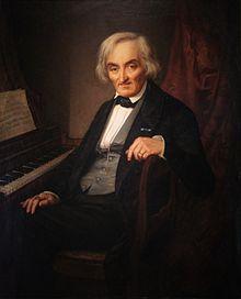 Johann Friedrich Kaufmann. Gemälde von Theodor Thieme, 1865(?) (Quelle: Wikimedia)