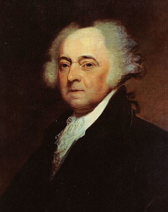 1800 United States presidential election in New Jersey - Image: John Adams crop